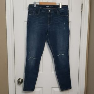 OLD NAVY Rockstar Super Skinny Distressed Jean